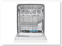 Dishwasher 1 - Tough Nylon Racks w/ Soft Food Disposer