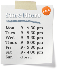 Appliance Scratch and Dent Outlet Store Hours