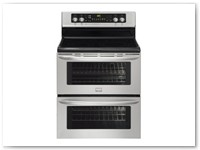 Stove 5 - Stainless Steel Double Oven Range